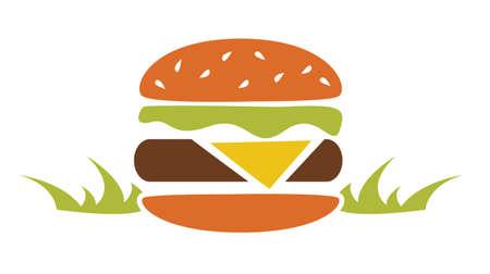 Burger Flat Icon