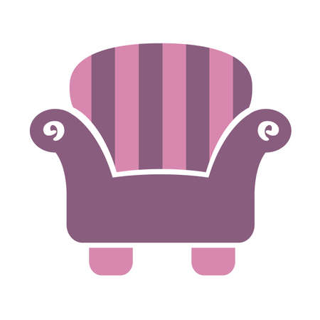 Striped Sofa Chair icon
