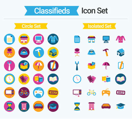 Classifieds Icon Set