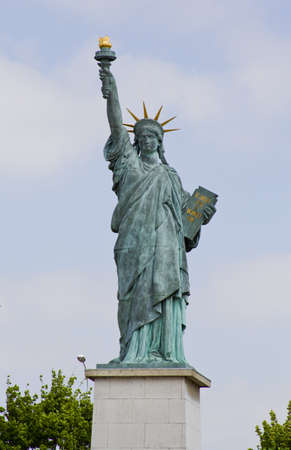 Statue of Liberty in Paris photo
