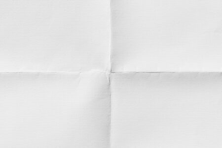 Close-up of old paper folded in four, texture background Stock fotó