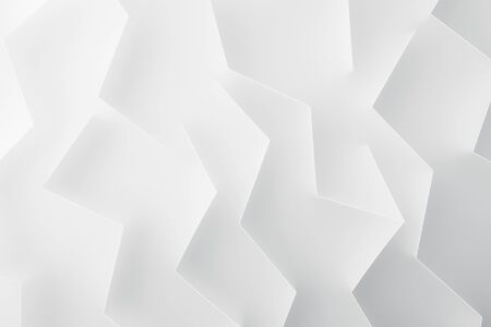 Shapes and lines on white background, abstract