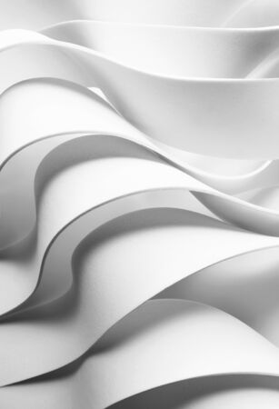 Structure made from white elements, abstract background Zdjęcie Seryjne