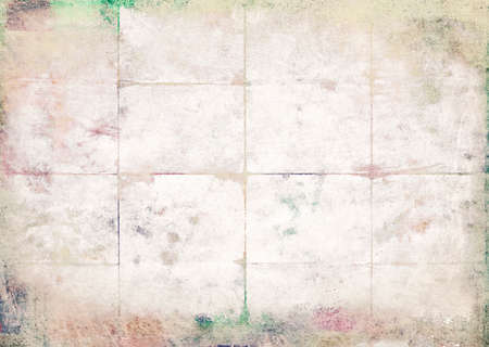 Old paper folded and stained, texture background
