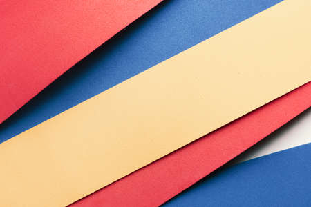 Close-up of colorful stripes, texture background