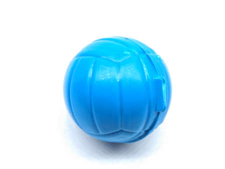 A picture of plastic Ball isolated on white background Stok Fotoğraf