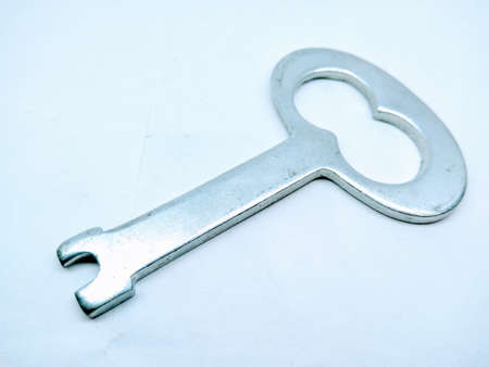 A picture of bottle cap opener isolated on white background