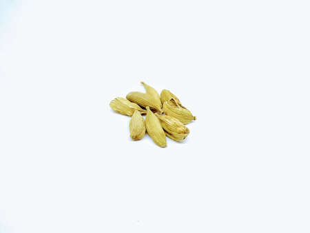 A picture of Cardamom on a white background