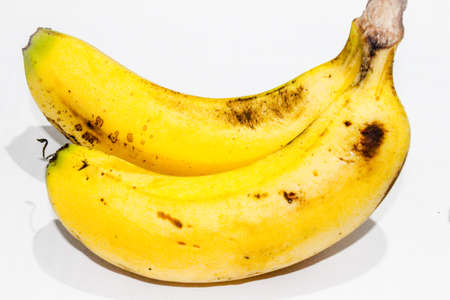 A picture of banana on white background