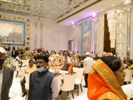 Utter pardesh , india - wedding function , A picture of wedding function in noida 2 december 2020