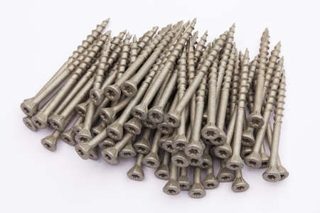 matte: Screws in matte version Stock Photo