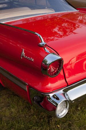 dodge: Trosa Sweden, June 5, 2014 veteran car meeting. DODGE DART PHOENIX model 1960.