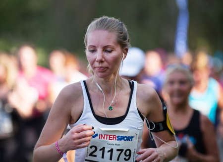 roth: STOCKHOLM SEPTEMBER 06 2014. TJEJMILEN.  A running race each year in Stockholm with only female participants. Cecilia Roth.
