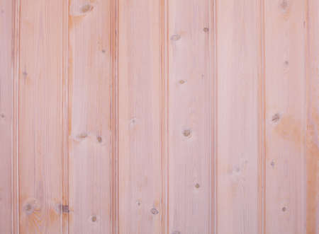 Wall with coated wood paneling Stock Photo