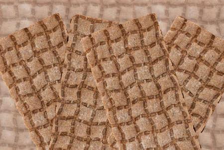 crispbread: Croccanti tipicamente svedese. Archivio Fotografico