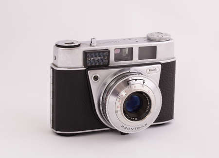 kodak: STOCKHOLM, SWEDEN, february  22, 2015: A German Made Kodak Retinette 1B from the early sixties.