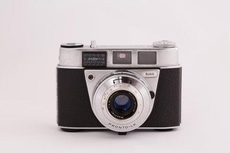 kodak: STOCKHOLM, SWEDEN, february  22, 2015: A German Made Kodak Retinette 1B from the early sixties.