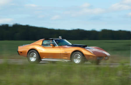 corvette: CHEVROLET CORVETTE, year 1975.