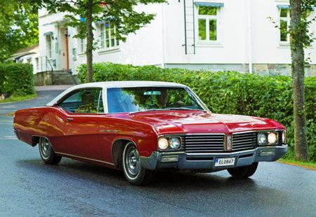 sabre: TROSA SWEDEN, 16 JULI 2015. BUICK LE SABRE CUSTOM Year 1967