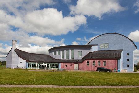 intellectually: YTTERJARNA, SWEDEN, CULTURE CENTER. June 23, 2015. cultural meeting place.