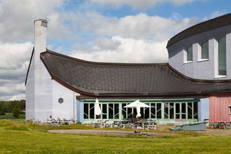 intellectually: YTTERJARNA, SWEDEN, CULTURE CENTRE. June 23, 2015. cultural meeting place.