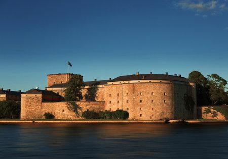 archipelago: Vaxholm fortress: Stockholm archipelago Sweden.
