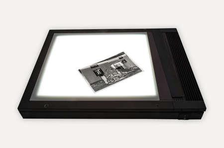 light box: Light box for image viewing