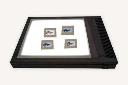 mounts: Light box for image viewing