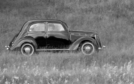 fiat: TROSA SWEDEN June 23 2016. FIAT 1100, year 1946.