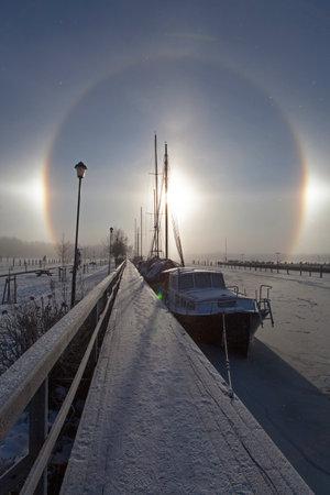 space weather tire: Weather phenomena in Trosa Sweden.
