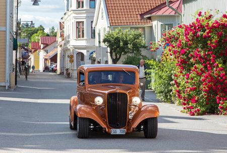 busines: TROSA SWEDEN July 7 2016. CHEVROLET. MASTER BUSINES model year 1933. Editorial