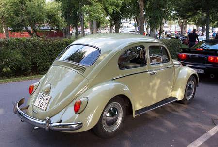 joyride: TROSA SWEDEN July 7 2016. VOLKSWAGEN 1200  model year 1963.