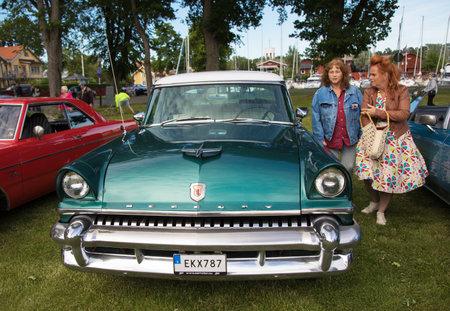 TROSA SWEDEN June 29, 2017. Mercury Monterey,  model year 1955. Editorial