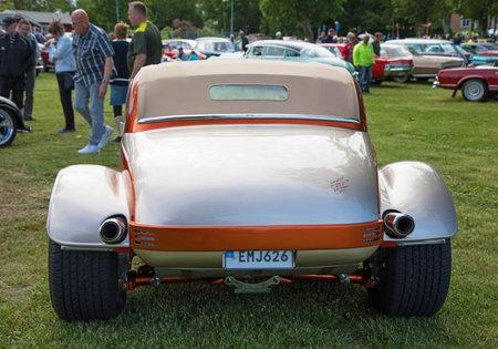 TROSA SWEDEN June 29 2017. Fiat Topolino 1949.