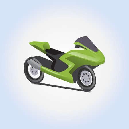 Bike vector icon or illustration