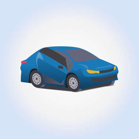 automobile door: Car tuning vector icon or illustration Illustration