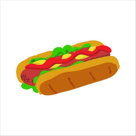 阵亡将士纪念日野餐食物插图热狗