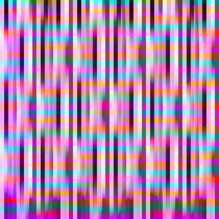 textural: Abstract seamless pattern with bright colored stripes. Textural background. Rainbow gradient. Holiday card, wallpaper, print fabric, clothes. Grunge style, scenic spots, blots. lattice