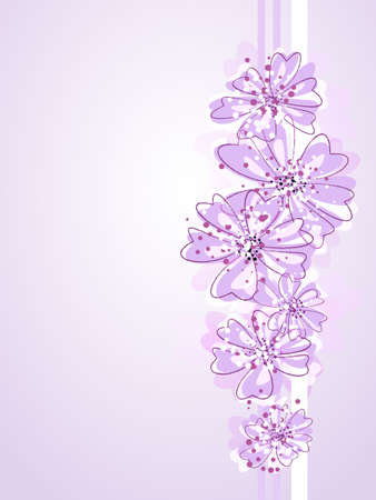 Romantic Flower Achtergrond