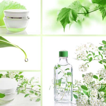 moisturiser: Cosmetics set of photos