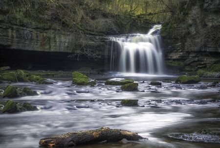 West Burton Falls in the Yorkshire Dales