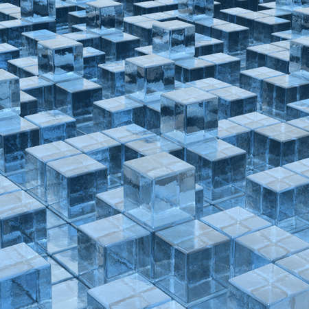 ices background Stock Photo