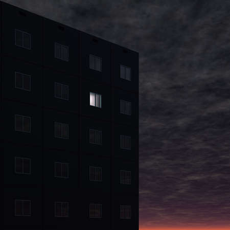 window glass: night life (insomnia)