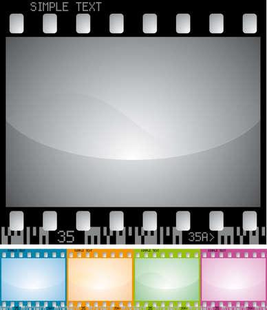 vector photo frame Stock Vector - 5377364