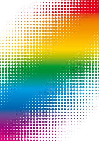 title page: p�gina de t�tulo de arco iris