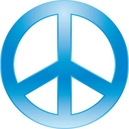 symbole de la paix: SYMBOLE DE PAIX Illustration