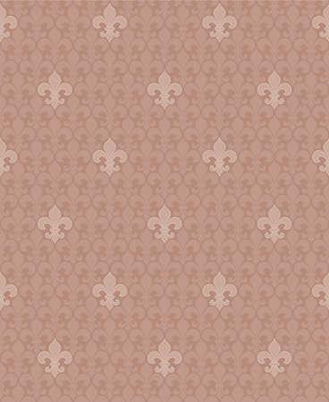 fleur: fleur-de-lis seamless pattern
