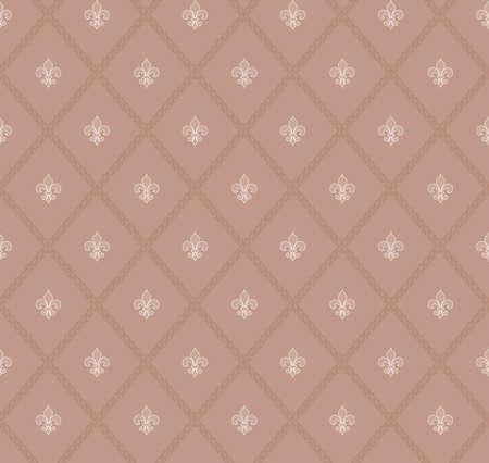 lis: fleur-de-lis seamless pattern