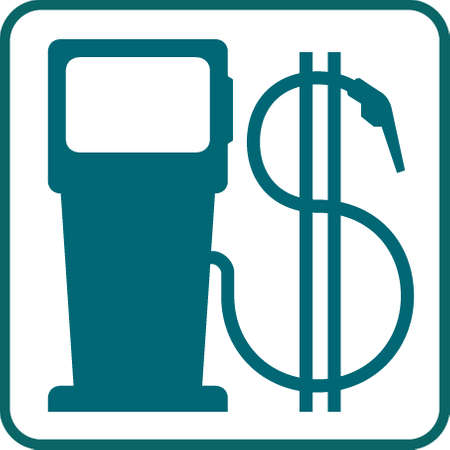 gas pump and dollar symbol Stock Vector - 5389708