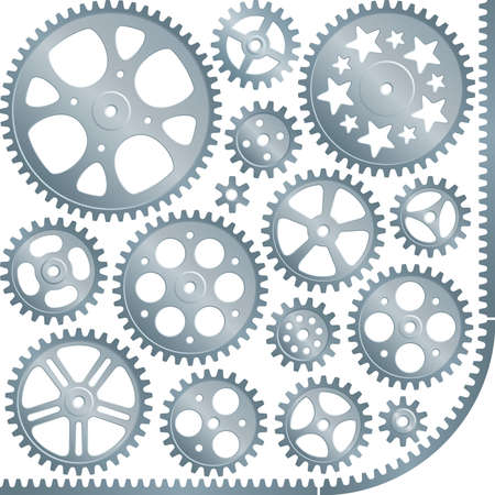 gears (vector set) Vector